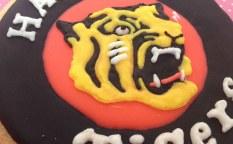 動物(トラ)のアイシングクッキー