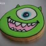 キャラクターのアイシングクッキー(モンスターズインク)