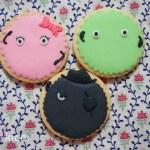キャラクターのアイシングクッキー(スーモ)