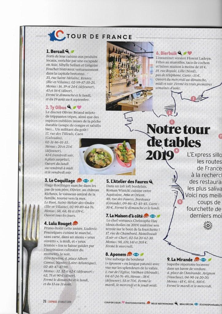 L'Express Corse gourmande