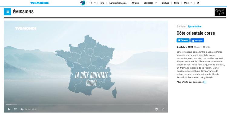 TV5 Monde - Epicerie fine