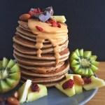 Pancakes healthy saveur vanille