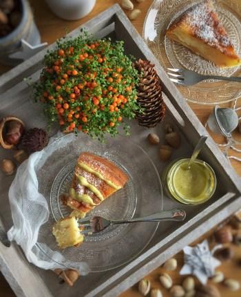 Moelleux au mascarpone et aux poires