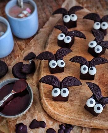 "Minis Cake ""chauve-souris"" tout chocolat"