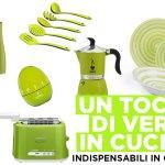 Pantone 2017 Greenery: gli oggetti per una cucina verde!