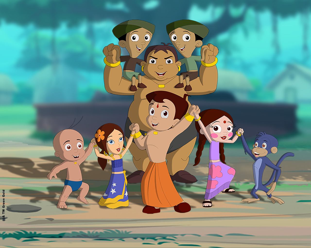 Chhota Bheem And Friends Hd Wallpapers Free Download Wallpaper