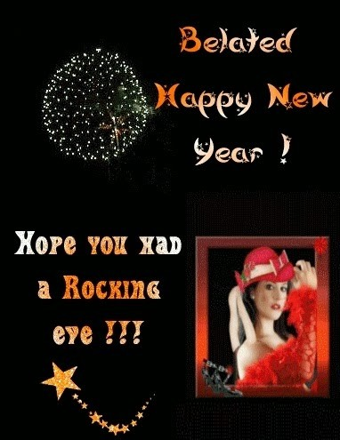 Belated Happy New Year 2014 Wishes