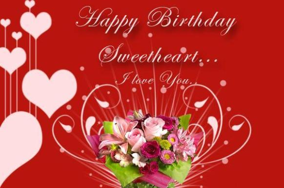 Romantic Happy Birthday Wishes, SMS, Messages, Status For Girlfriend