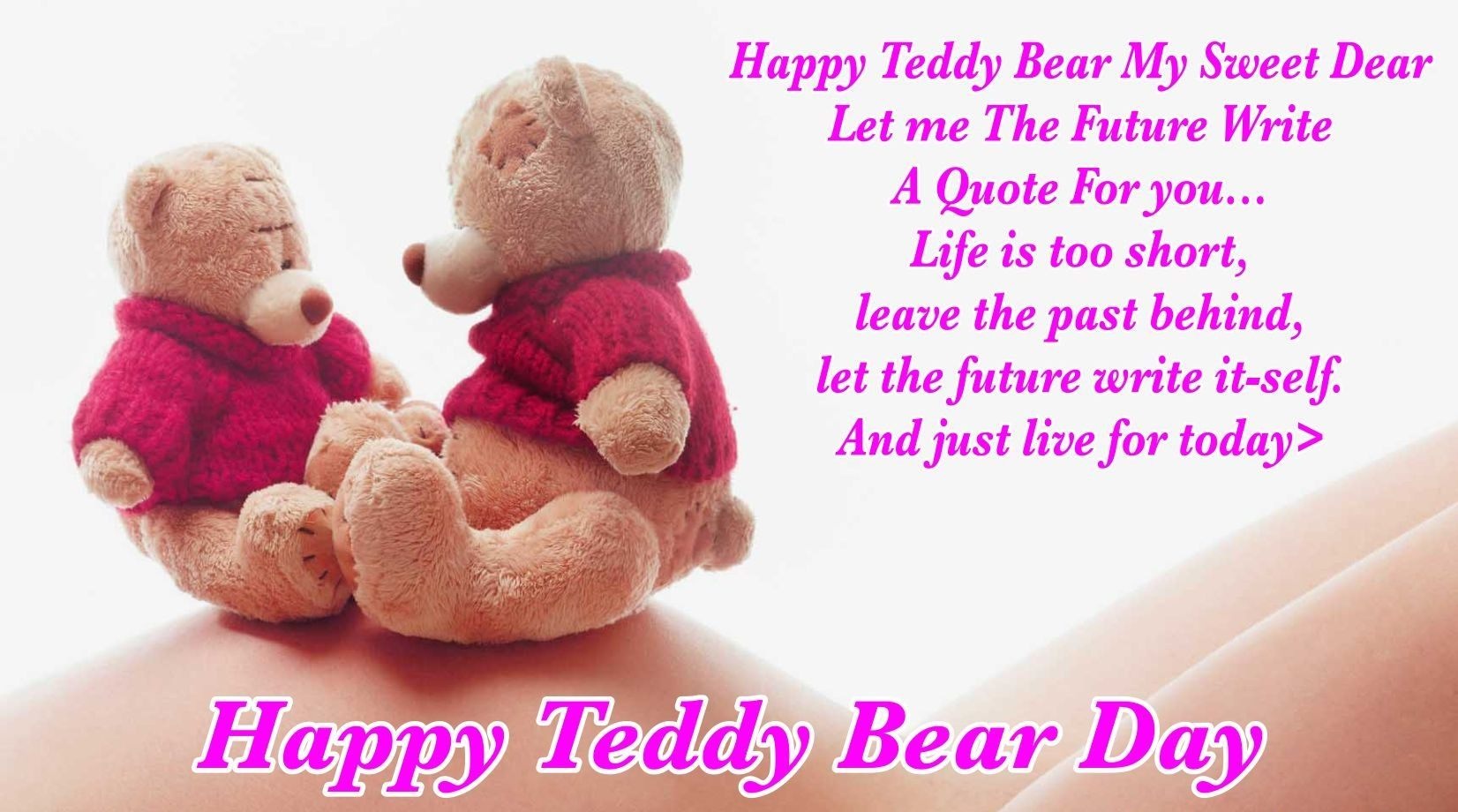 Happy Teddy-Day