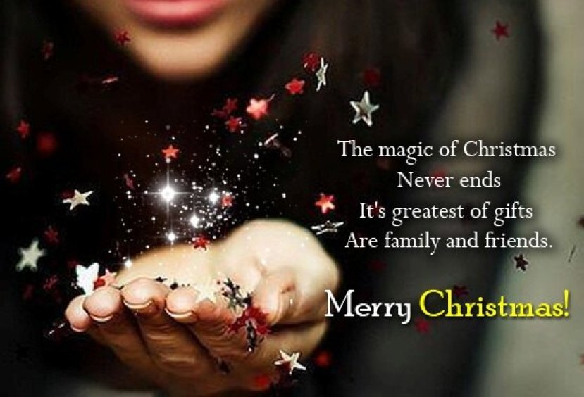 christmas greetings words for friends and family members