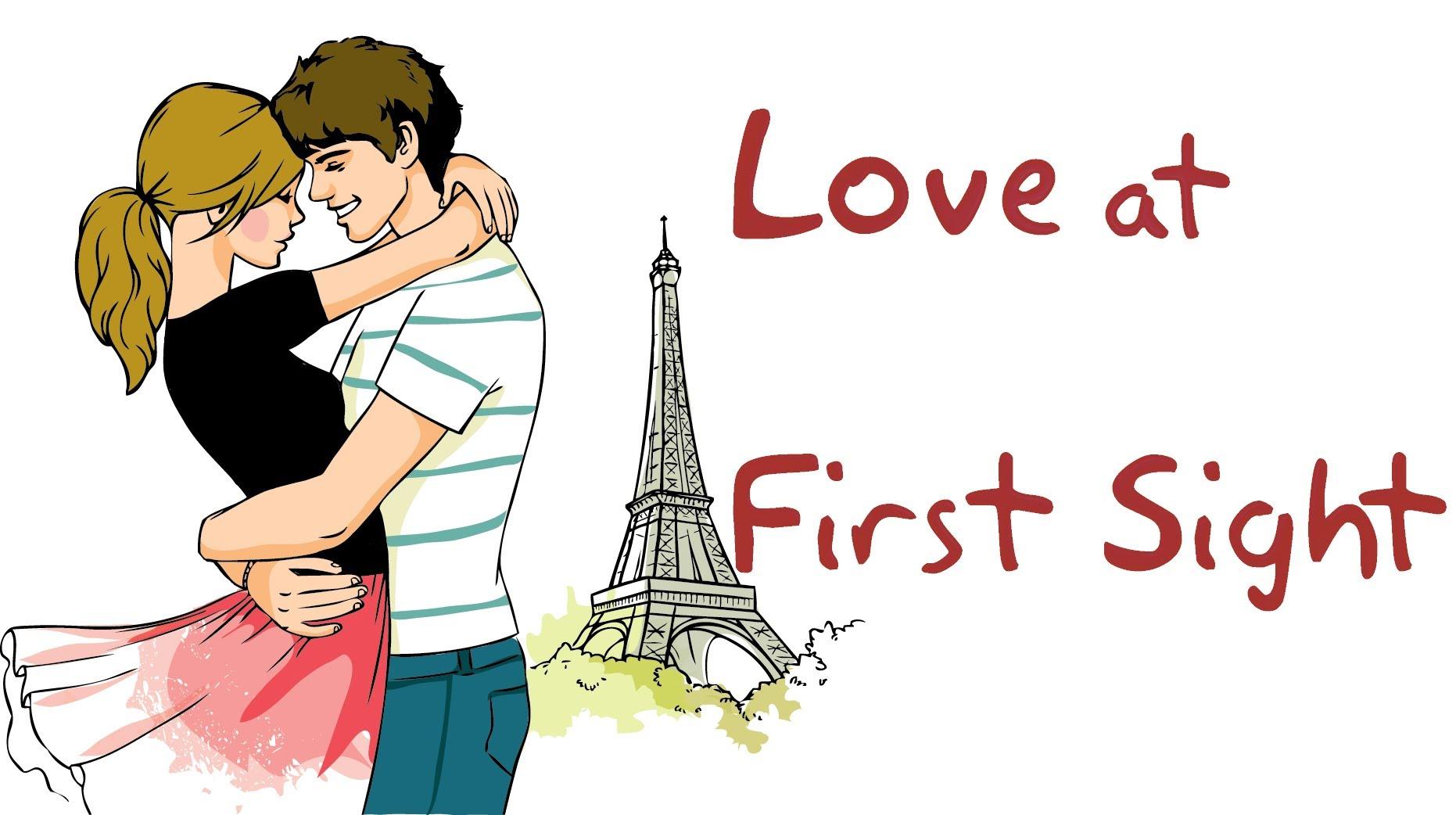 first meet love sms