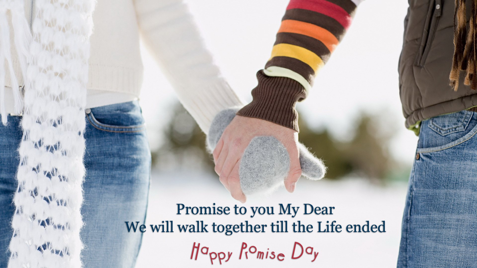 Happy Promise Day SMS