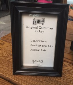 The Original Cointreau Rickey