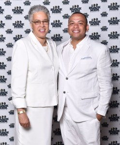 Toni Preckwinkle, Cook County Board President & Kurt Summers, Jr. Treasurer of the City of Chicago Photography by LeVern A. Danley III