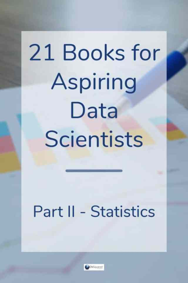 3 Must-Read Statistics Books for Data Science #statistics #datascience
