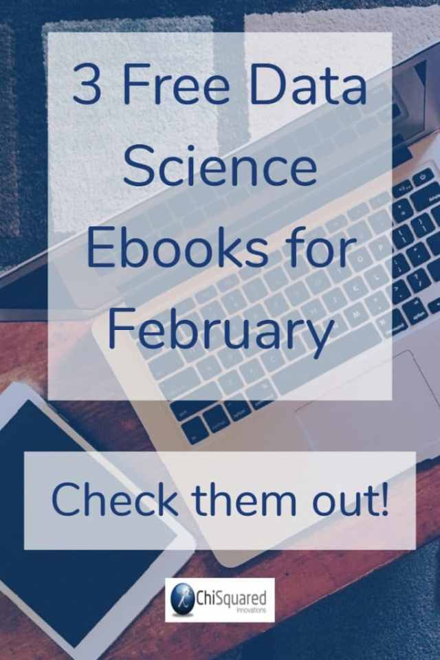 Check out our free data science ebooks for February
