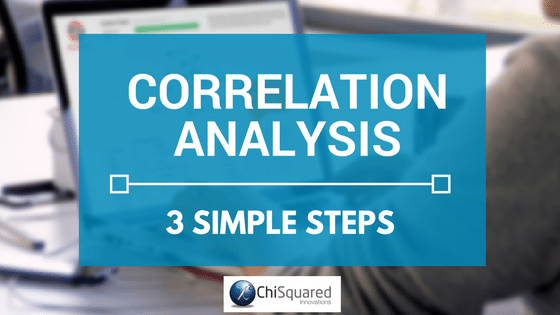 Correlation Analysis in 3 simple steps