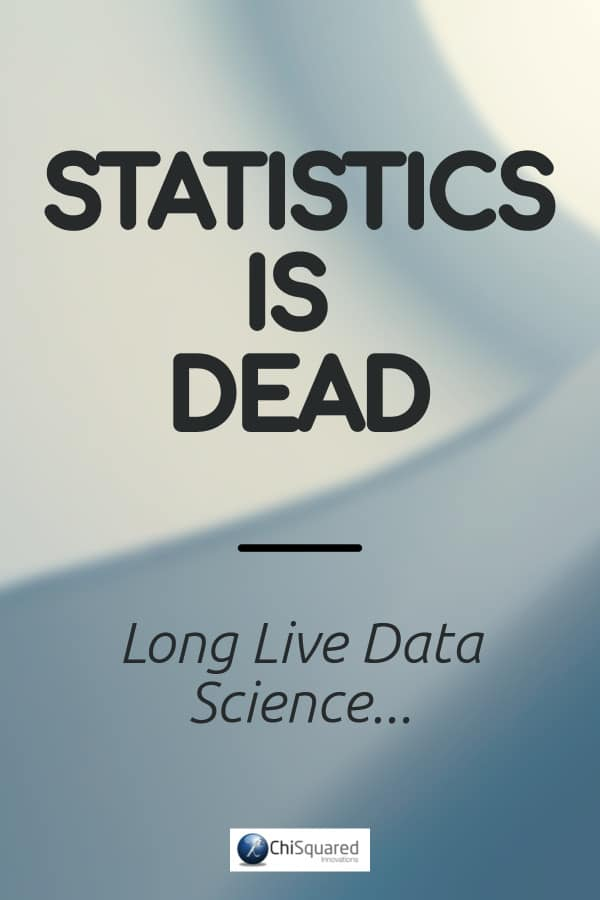 I keep hearing Data Scientists say that 'Statistics is Dead', and they even have big debates about it attended by the good and great of Data Science. Interestingly, there seem to be very few actual statisticians at these debates. So why do Data Scientists think that stats is dead? Where does the notion that there is no longer any need for statistical analysis come from? And are they right? #statistics #datascience