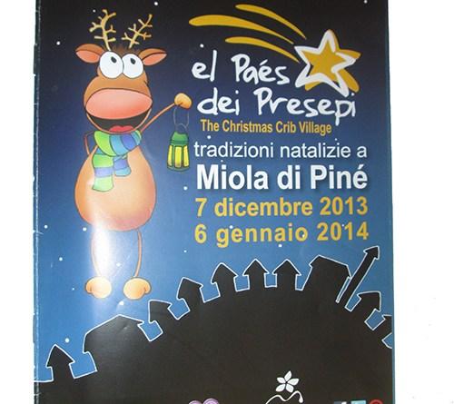 Miola di Pinè il paese dei presepi miola