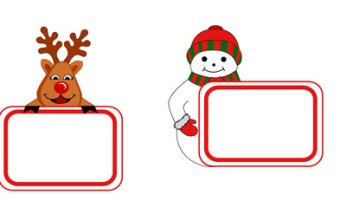 Biglietti di auguri fai da te Natale