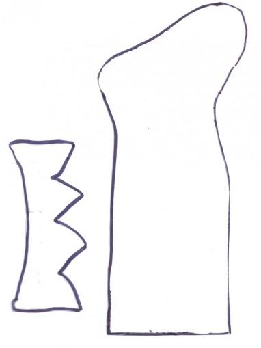 cartamodello calza befana