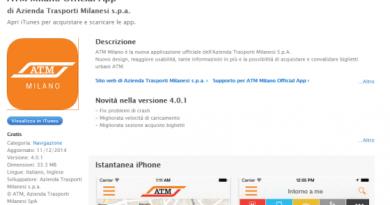 Trasporto pubblico a Milano, app di ATM