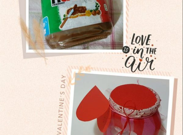 Festa di San Valentino Regalo di San Valentino Nutella