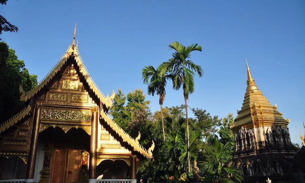 Buddhist temple Wat Chiang Man