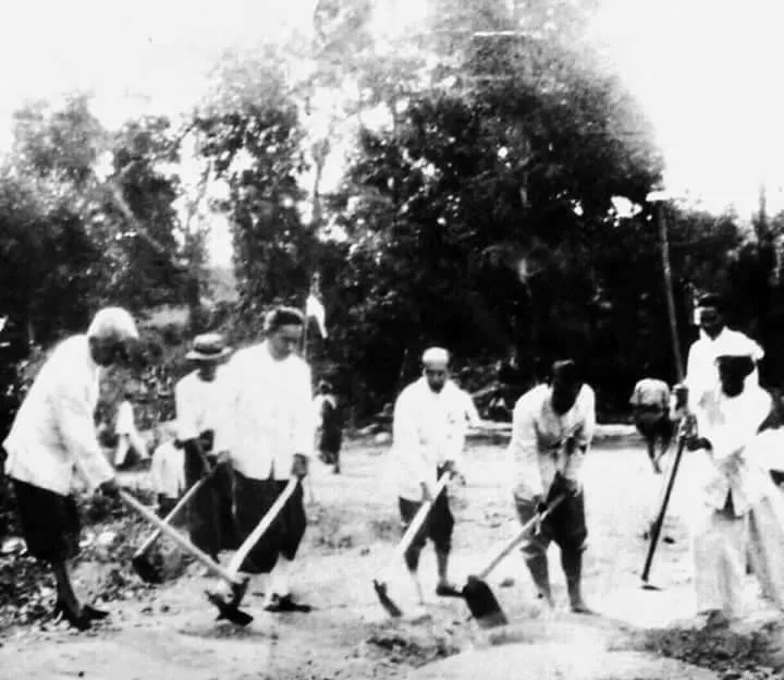 Group of people working