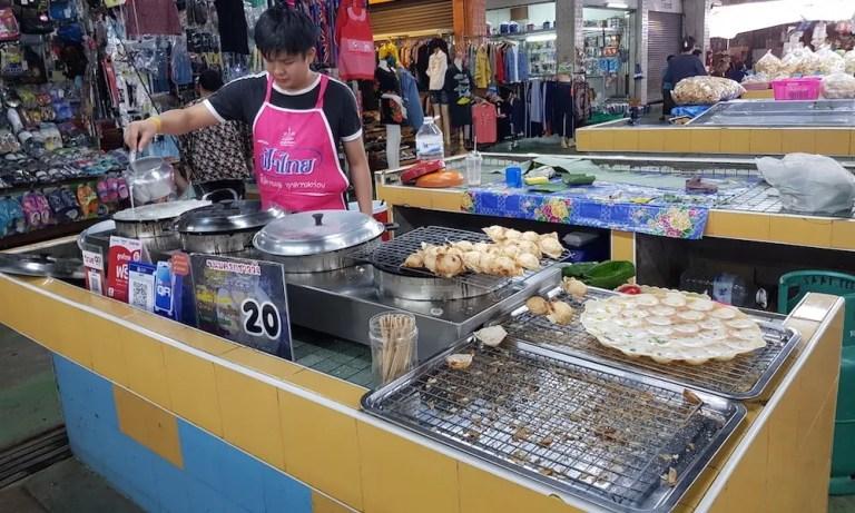 Man preparing sweets San Pakoy Market