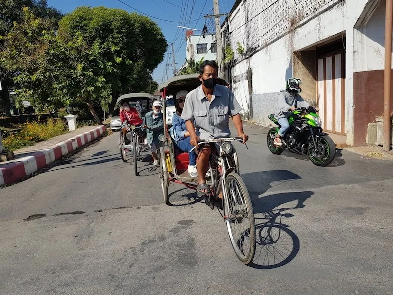 Bicycle taxi Chiang Mai Private Tours