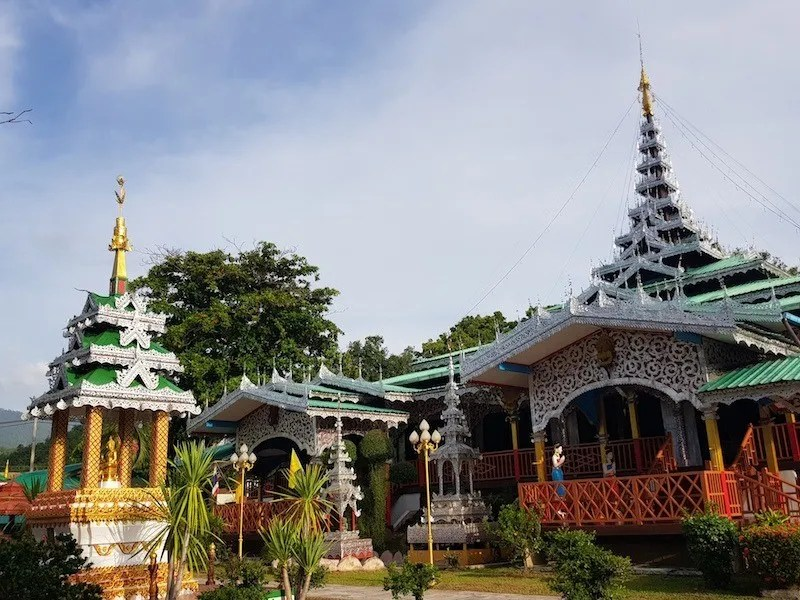 Burmese style temple Things to do Mae Hong Son Attractions