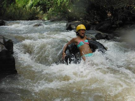 River tubing is exhilarating!