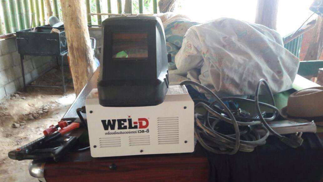 A donation of welding equipment