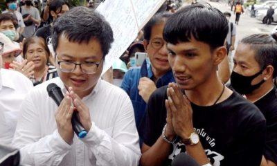 ศาลอาญาส่งนักเคลื่อนไหวต่อต้านรัฐบาลเข้าเรือนจำกรุงเทพฯ