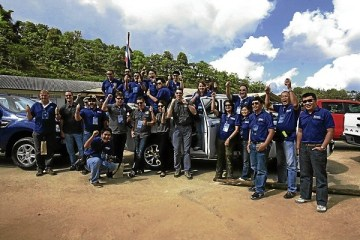 2012 Ford Ranger Test Drive in Chiangrai
