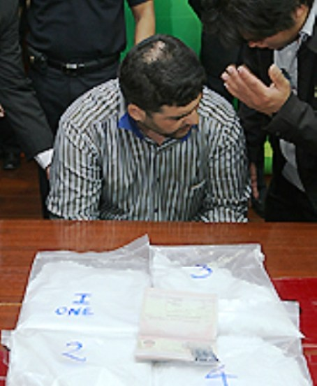 """Iranian Racho Boroman arrested at Thai Airport with four Kilogrammes of Crystal Meth """"Ice"""""""