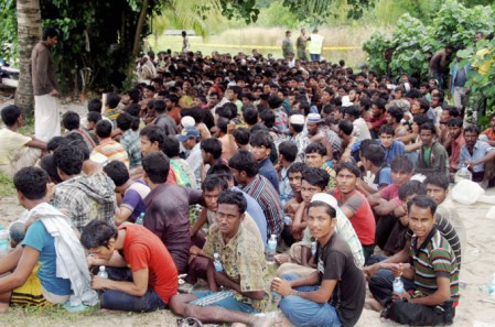More than 700 migrants, fleeing persecution in Myanmar, to be deported by authorities after rescue from traffickers.