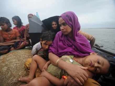 Myanmar nationals tried to enter Malaysia illegally at the end of a 15-day boat journey