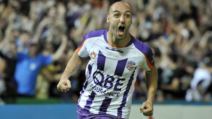 Gone ... Billy Mehmet decides to leave Perth Glory for Thailand