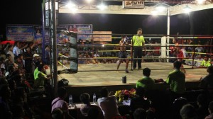The fights attract large crowds from surrounding villages that bet heavily on boxers from their areas. This places tremendous pressure on the young fighters.