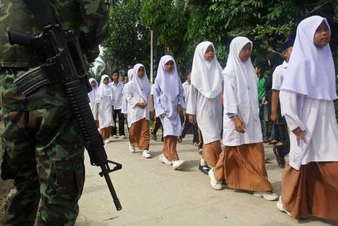 Thailand is considering handing over limited powers to its Muslim-majority south