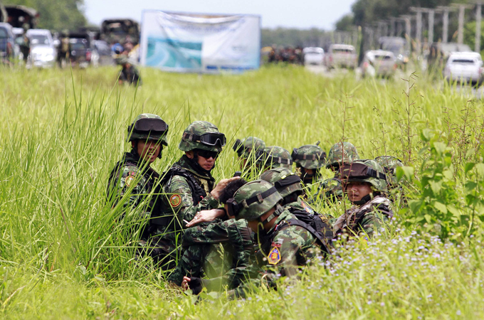 Almost a decade of conflict has left more than 5,700 people dead in the Thai south [Reuters]