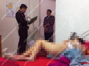 Caroline Paige Srichankij, age 27, was found lying dead on her bed-Photo Pattaya Daily News