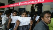 Sources said immigration officials sold the Rohingya to Malaysian people smugglers.