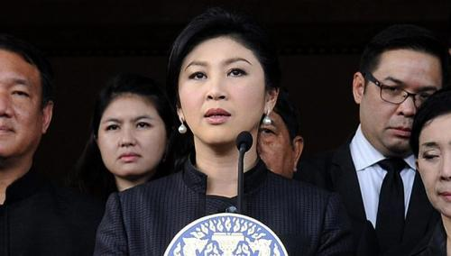 In a speech broadcast live on television, Ms Yingluck reiterated that the government's planned amnesty move had ended.