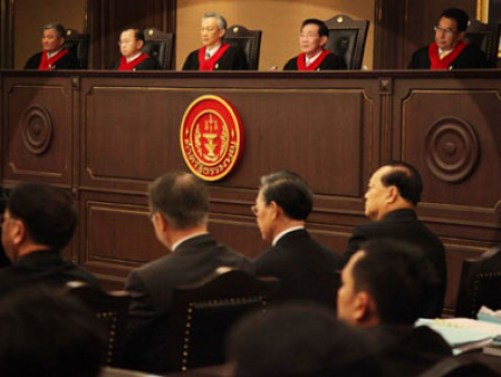 Thai court rules against constitution amendments, dismisses petition to dissolve ruling party