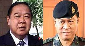 The forces behind Suthep are led by former defence minister General Prawit Wongsuwan and former army chief General Anupong Paochinda