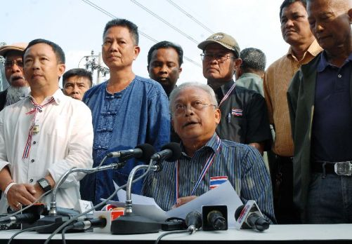 On the face of it, Suthep's bid to upend Thailand's current political order looks far-fetched