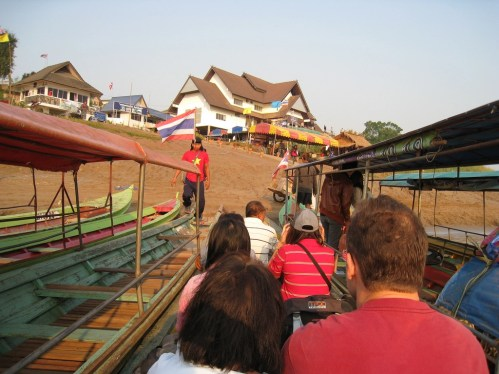 Chiang Khong is a bit of a victim of its location